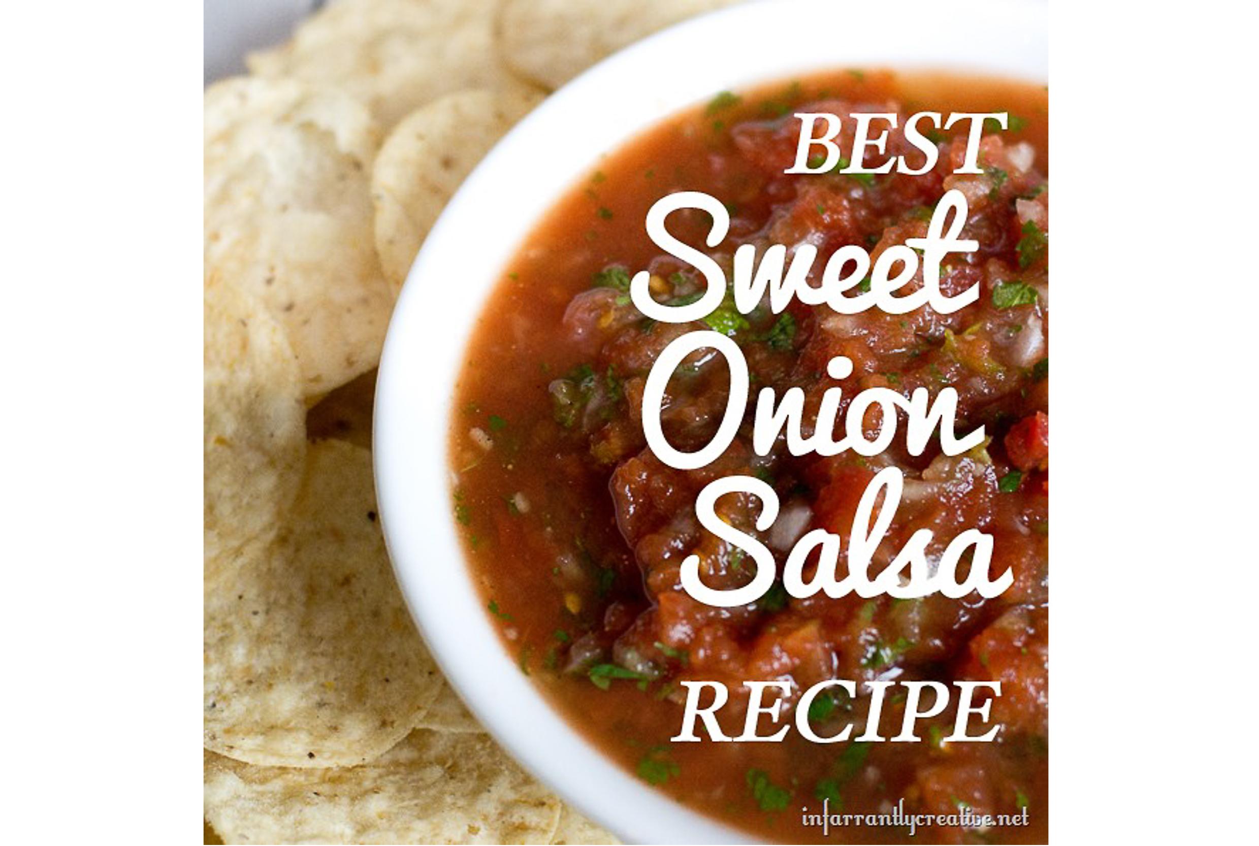 Homemade Sweet Onion Salsa