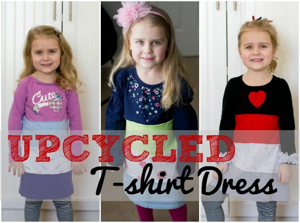 upcycled shirt dress tutorial
