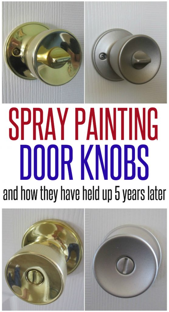 Spray Painted Doorknobs Pt 2 Infarrantly Creative