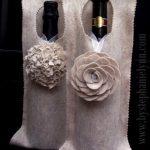 felt wine wrap