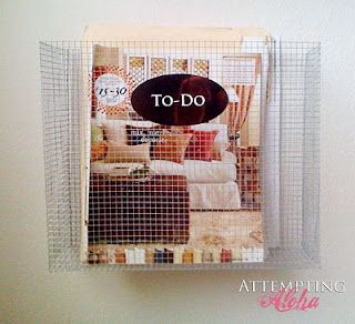 DIY Ballard Wall Basket Pocket A