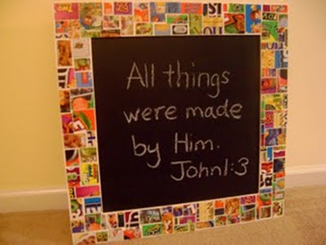 Cereal Box Mosaic