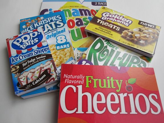 cereal box notepads