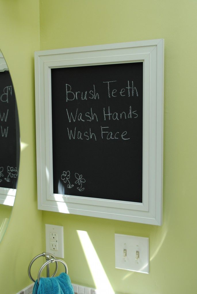 Chalkboard Medicine Cabinet Infarrantly Creative