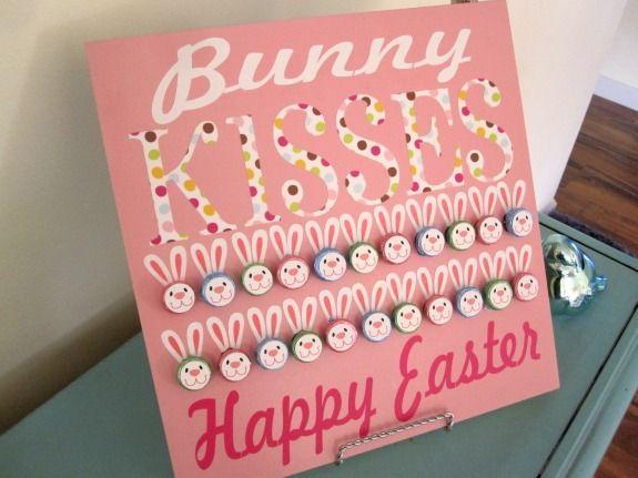 Bunny Hershey Kiss Board