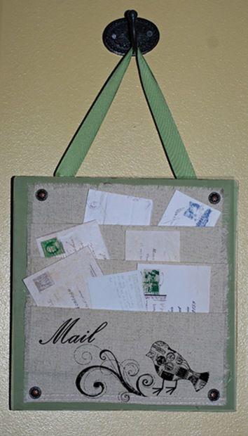 Canvas Letter Organizer