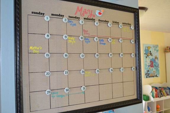 Diy Calendar Magnets : Calendar magnets infarrantly creative