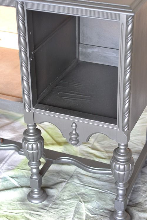 black antique sideboard (7)