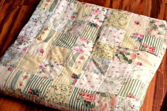 outdoor quilted blanket