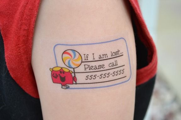 Tattoo pictures and ideas december 2011 for Temporary tattoos kids