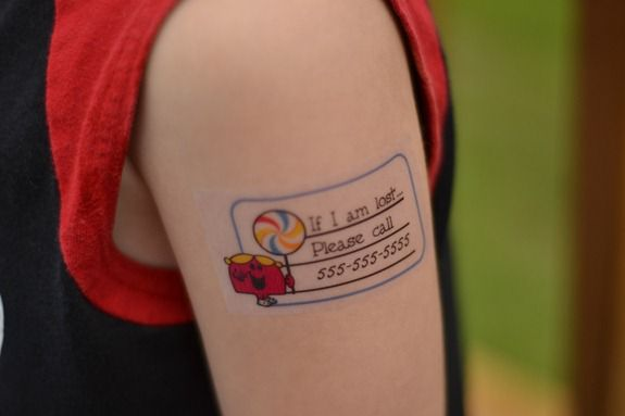 Remodelaholic temporary tattoo ideas for Temporary tattoos kids