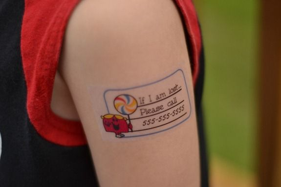how to get little kid tattoos off