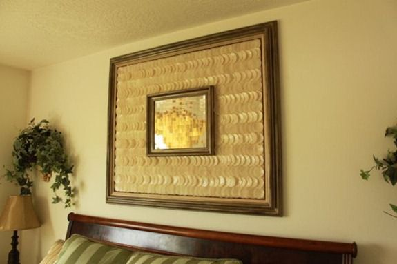 mosaic shell mirror art (1)
