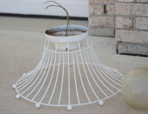 Industrial Wire Basket Light (4)