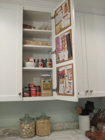 5 Ways to Organize with Cabinet Doors