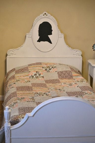 Antique Waterfall Bed
