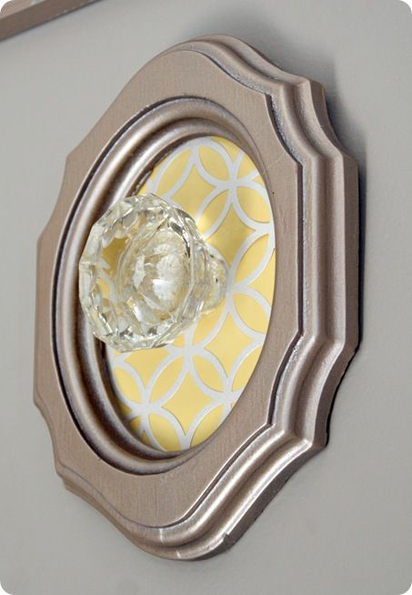 5 Ways to Repurpose Vintage Doorknobs