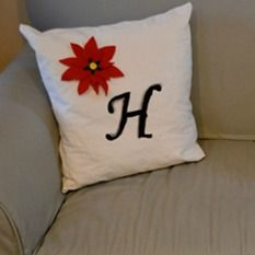 poinsettia-pillow
