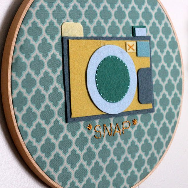 Snap Hoop Art–{Kojo Designs}