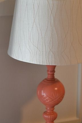 Coral Lamp Makeover