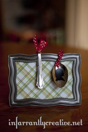 Stamped Spoon Ornaments