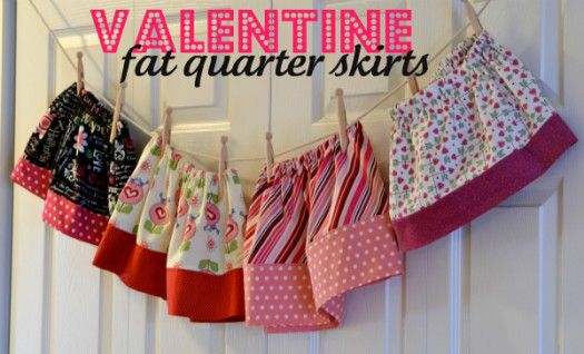 fat quarter valentine skirt (2)
