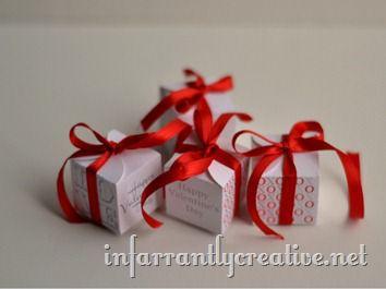 Valentine Hershey Kiss Box
