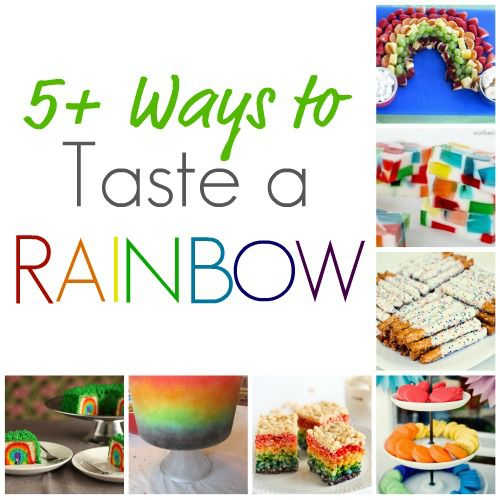 5 Ways to Taste a Rainbow