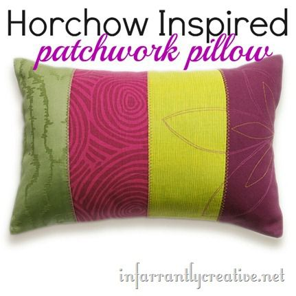 Patchwork Pillow Knock-Off
