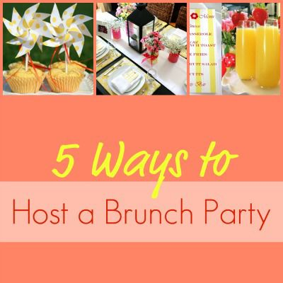 Brunch Party Collage