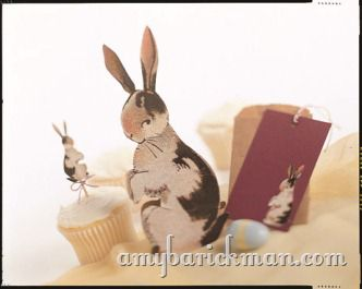 Free Downloadable Vintage Bunnies