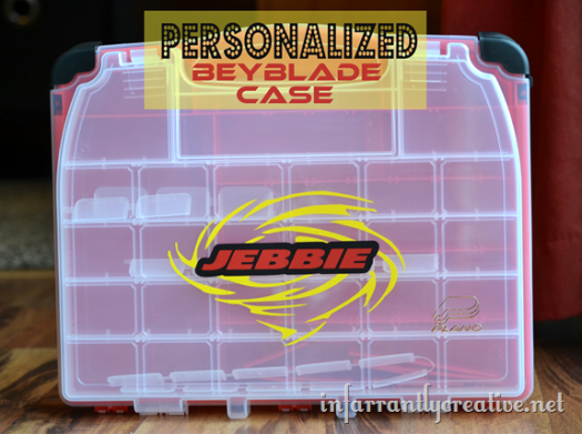 Personalized Beyblade Case