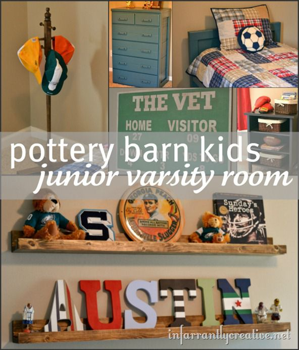 Pottery Barn Kids Inspired Room