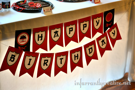 Lego Ninjago Birthday Party Infarrantly Creative
