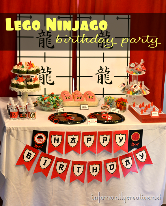 Lego Ninjago Birthday Party