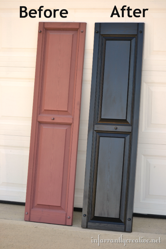 spray painting vinyl shutters ForPaint Vinyl Shutters