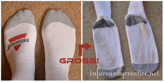 white sock test