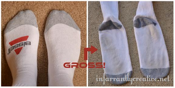 white sock test