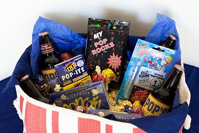 """Pop"" basket for father's day"