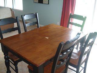 Operation Refinishing Kitchen Table