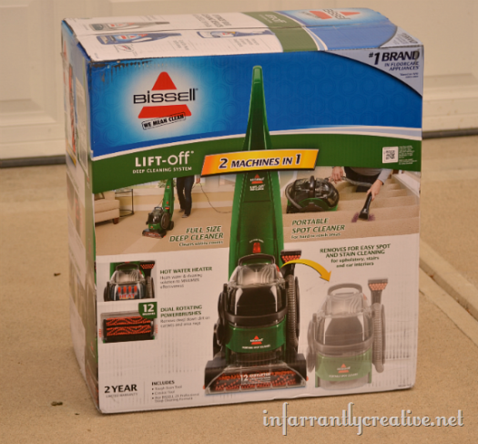 Bissell Lift Off Review