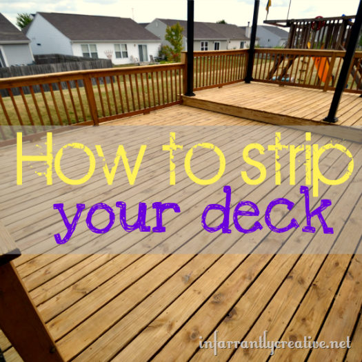 How to Strip a Deck