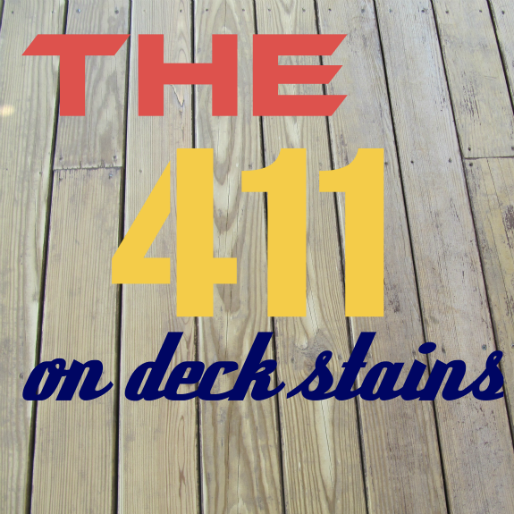 Choosing a Deck Stain