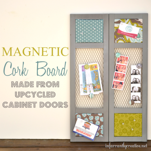 Magnetic Cork Board