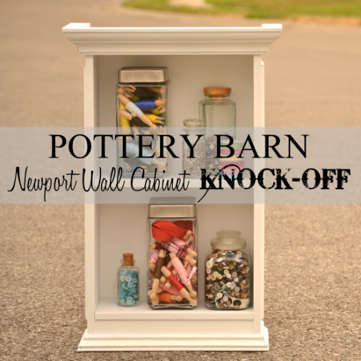 Pottery Barn Cabinet {Knock-Off}