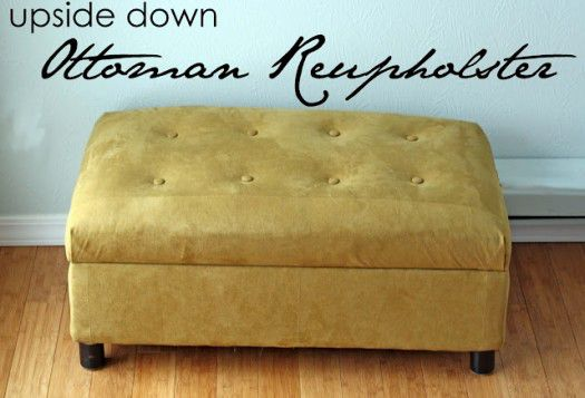 Storage Ottoman Tutorial