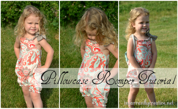 Tutorial Pillowcase Romper: Pillowcase Romper   Infarrantly Creative,