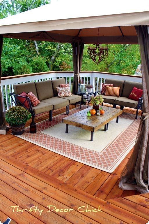 Deck Painted Solid Ideas - Home Design Elements on Large Patio Design Ideas id=75924