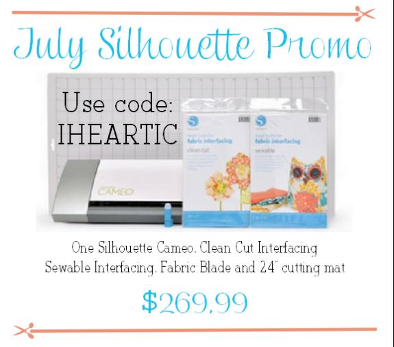 july silhouette promo