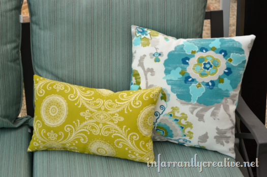 Outdoor Fabric Pillows